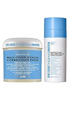 LOT DE SOINS DE LA PEAU ACNE CLEAR Peter Thomas Roth $46