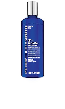 3% Glycolic Solutions Cleanser Peter Thomas Roth $39