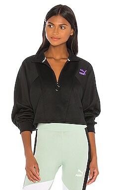 TFS Cropped Half Zip Sweatshirt Puma $43