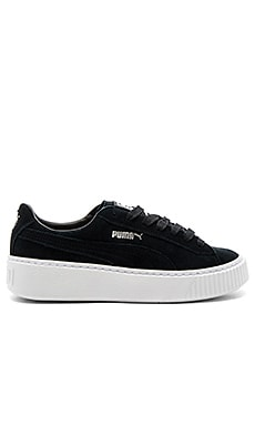Creeper Core Sneaker in Puma Black & Puma White