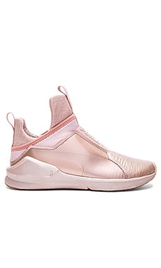 Fierce Metallic Sneaker in Rose Gold
