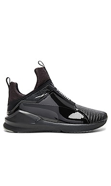 Fierce Metallic Sneaker en Puma Black