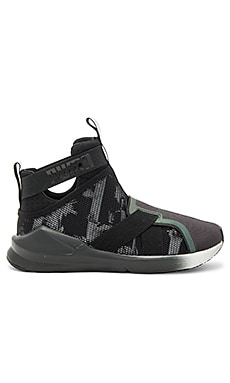 Fierce Strap Swan Sneaker in Puma Black
