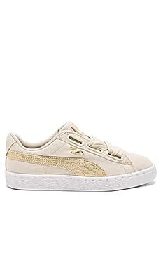 Basket Heart Canvas Sneaker Puma $80
