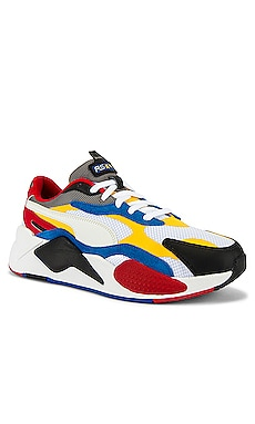 Puma Select RSX Cube RS-X3 Puzzle in Puma White & Spectra Yellow from  Revolve.com