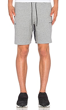 Puma Select x Stampd Sweat Short in Medium Grey Heather