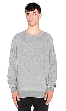 Puma Select x Stampd Crew Sweat in Medium Grey Heather