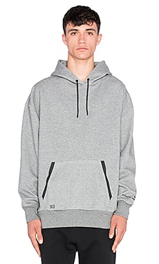 Puma Select x Stampd Oversize Hoody in Medium Grey Heather