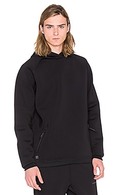 Puma Select x STAMPD Drop Neck Sweat Shirt Hood in Black