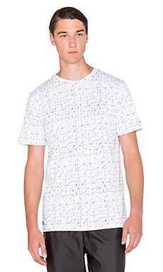 Puma Select x Stampd AOP Tee in WHite