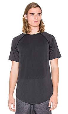 Puma Select x STAMPD Raglan Sleeve Tee in Black