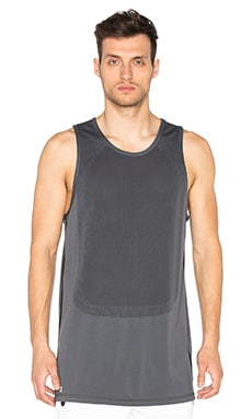 Puma Select x STAMPD Long Tank Top in Dark Gray Heather