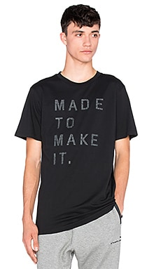 Puma Select x Stampd Print Tee in Black
