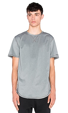 Puma Select x Stampd Baseball Tee in Medium Grey Heather