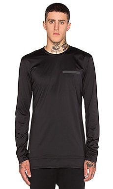 Puma Select x Stampd Long Sleeve Tee in Black