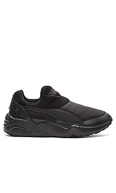 Puma Select x STAMPD Trinomic Sock in Ebony