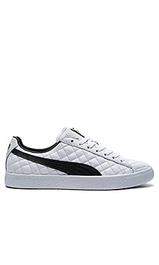 Clyde Dressed Part Deux FM in Puma White & Puma Black