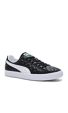 Clyde Dressed Part Deux FM in Puma Black & Puma White