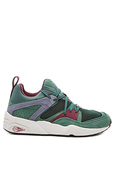 Puma Select Blaze of Glory Trinomic CRKL in Posy Green