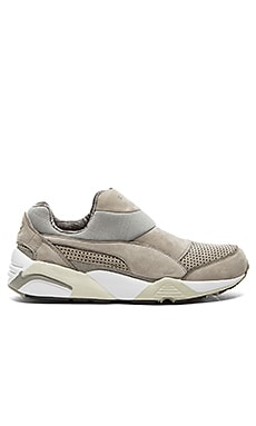 Puma Select x Stampd Trinomic Sock in Drizzle