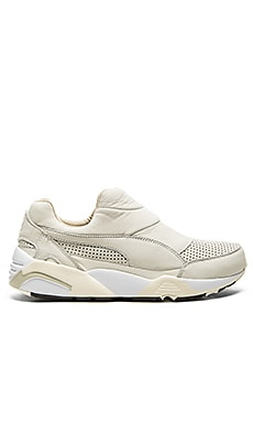 Puma Select x Stampd Trinomic Sock in Whisper White