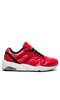 Puma Select R698 Matte & Shine in High Risk Red White Black