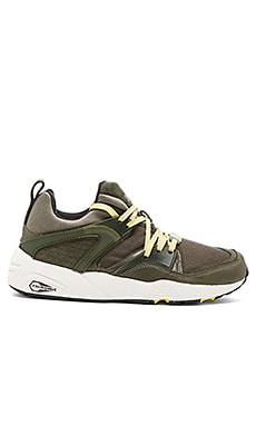Puma Select Blaze of Glory Leather in Forest Night