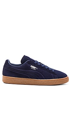 Puma Select Suede Emboss in Peacoat Gum
