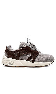 Puma Select Disc Blaze Felt in Potting Soil Brown