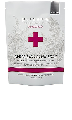 Apres Savasana Bath Soak Pursoma $18
