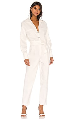 Ewa Jumpsuit Piece of White $357