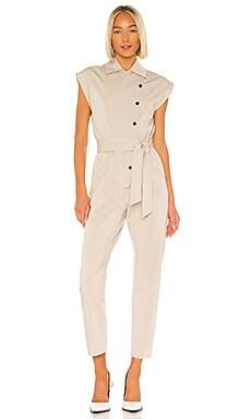 Lea Jumpsuit Piece of White $195