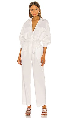 Oliver Jumpsuit Piece of White $237