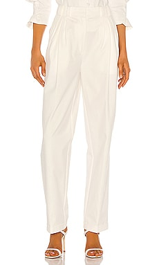 Colette Trousers Piece of White $215