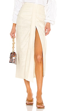 JUPE AUDREY Piece of White $594 Collections