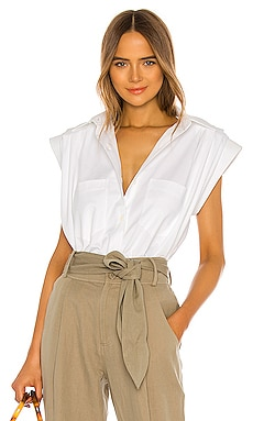 Andrea Shirt Piece of White $378