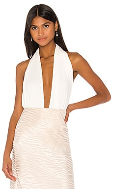 Gloria Bodysuit Piece of White $351