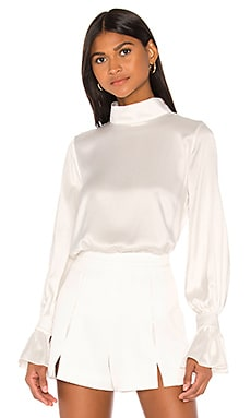 Gisele Blouse Piece of White $378