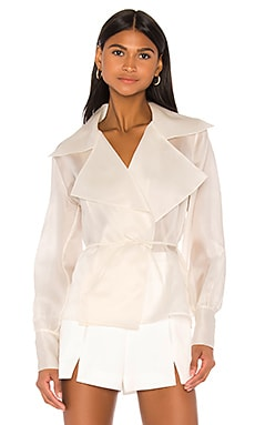 Charlotte Blouse Piece of White $405 NEW ARRIVAL
