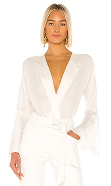 Isabella Bodysuit Piece of White $148