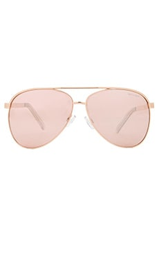 Quay x Shay Mitchell Vivenne Sunglasses in Gold