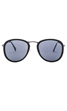 Quay Odyssey Sunglasses in Black