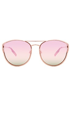 Cherry Bomb Sunglasses in Rose Gold