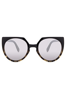 Quay Give And Take Sunglasses in Black Tort
