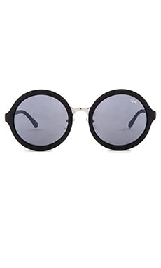 Quay Smoke In Mirrors Sunglasses in Black