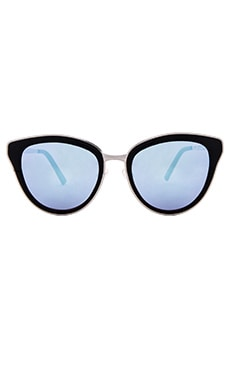 Quay Every Little Thing Sunglasses in Black