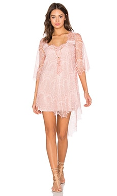 Salina Lace Tunic in Pink