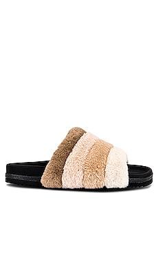 Prism Faux Fur Slide R0AM $130
