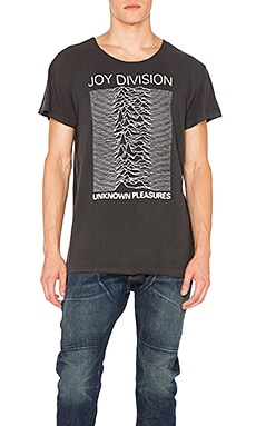 R13 Joy Division Lukas Tee in Black