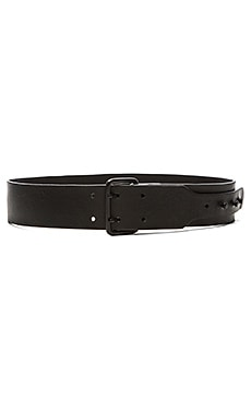 Rachel Pally Button Stud Belt in Black